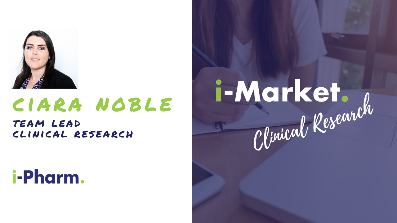 i-Market: Clinical Research Associates Market with Ciara Noble